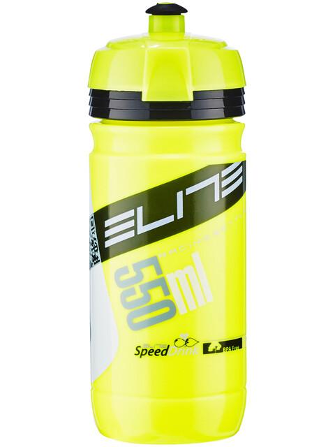 Elite Corsa Trinkflasche 550ml fluo gelb/schwarz